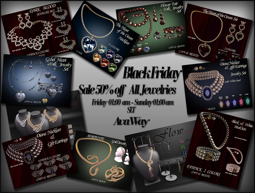 Black Friday at AvaWay Inworld Store