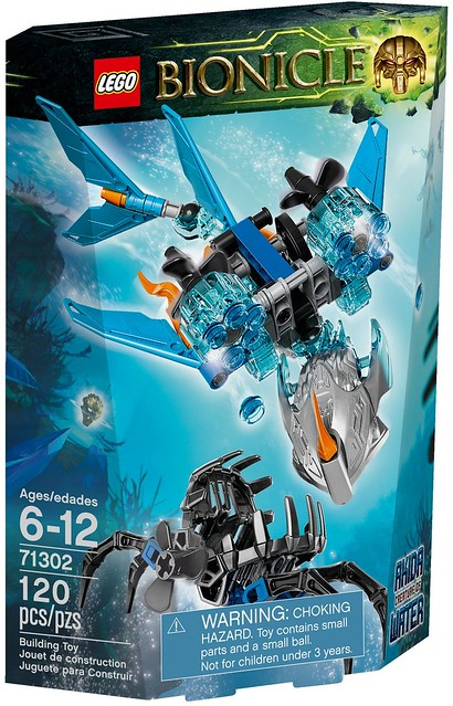 LEGO Bionicle 2016 | 71302 | Akida - Creature of Water