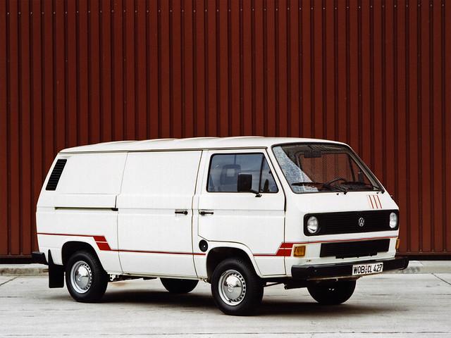 Volkswagen T3 Transporter Kasten. 1979 – 1992 годы