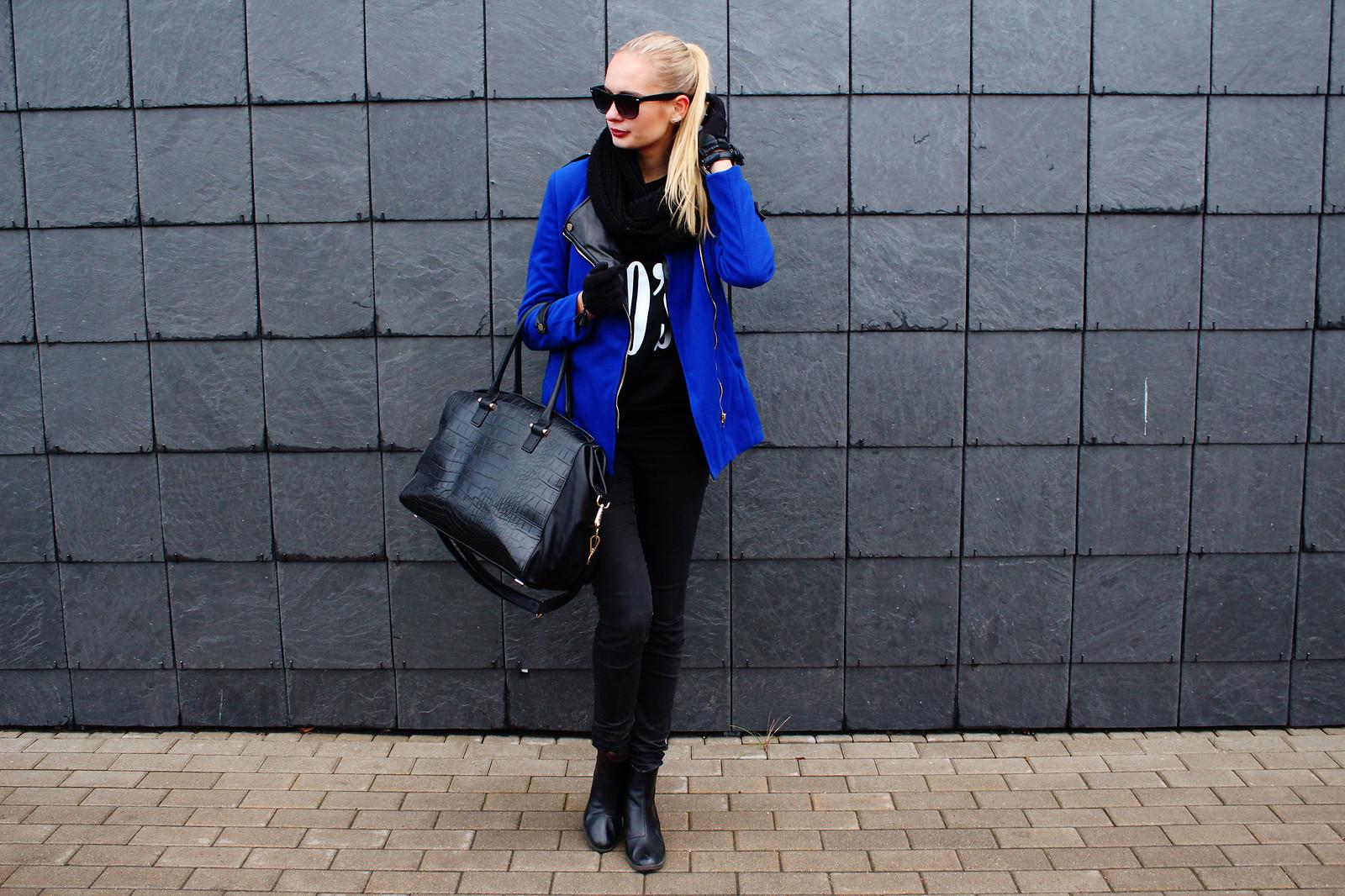 indigo blue jacket