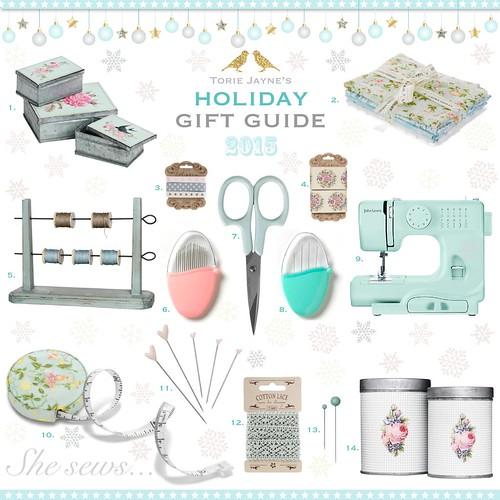 She sews...Gift Guide 2015