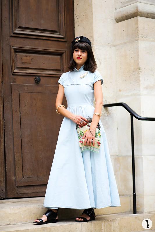 Alexandra Purcaru, street style, Paris