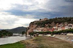 El Ebro en Miravet (Tarragona, España)