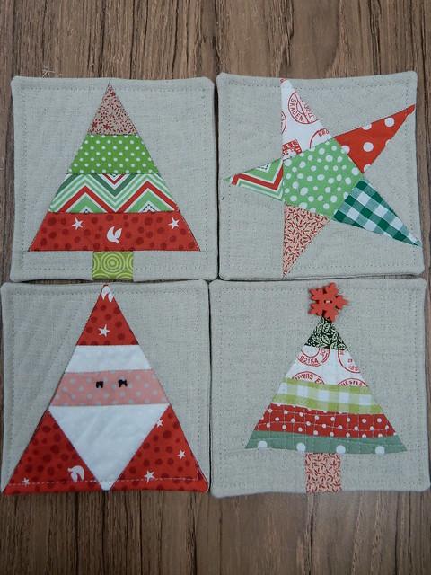 Christmas coasters (1)