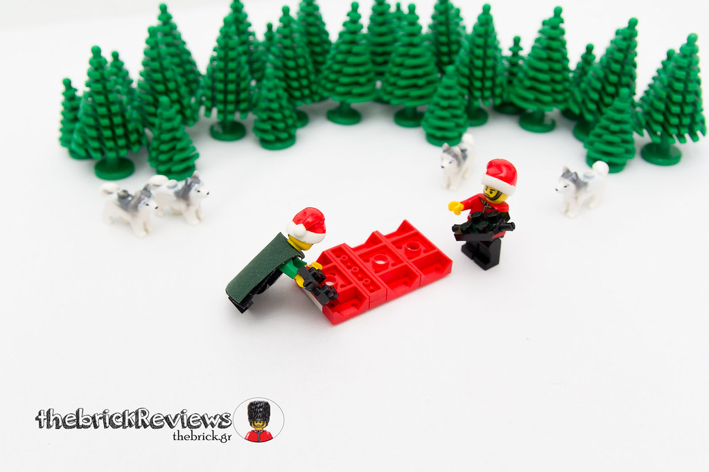 ThebrickReview: Christmas Train - 40138 - Limited Edition 2015 23610473242_9579582559_b