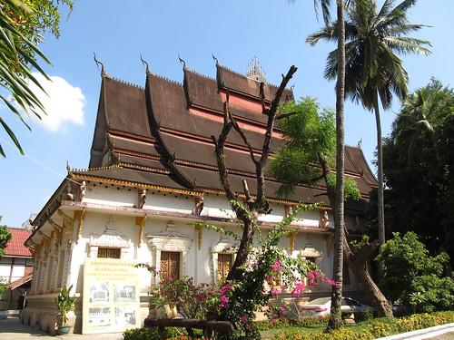 Vientiane: le temple-monastère Vat Haysok