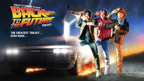 Back to the Future - Trilogy Poster 2