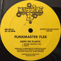 FUNKMASTER FLEX:DOPE ON PLASTIC(LABEL SIDE-B)