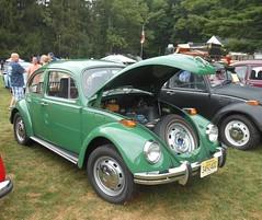 green 1970 volkswagen beetle | this 1970 beetle is one of ov… | flickr