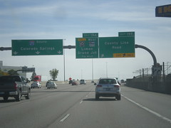 I-25 South - Exits 195 and 194