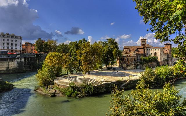 Roma n°6 - l' Isola Tiberina