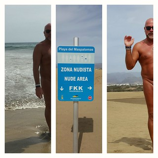 תמונה של Gay Beach Maspalomas. maspalomas nude beach fkk nudist