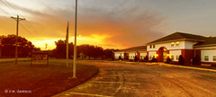 Nanjemoy Community Center at Sunset