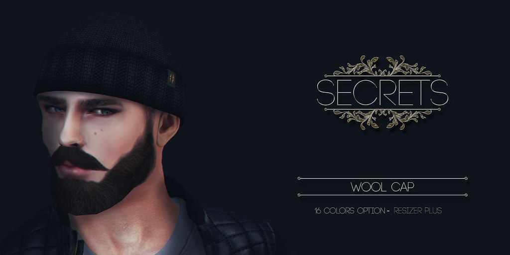 -SECRETS- Wool Cap - SecondLifeHub.com