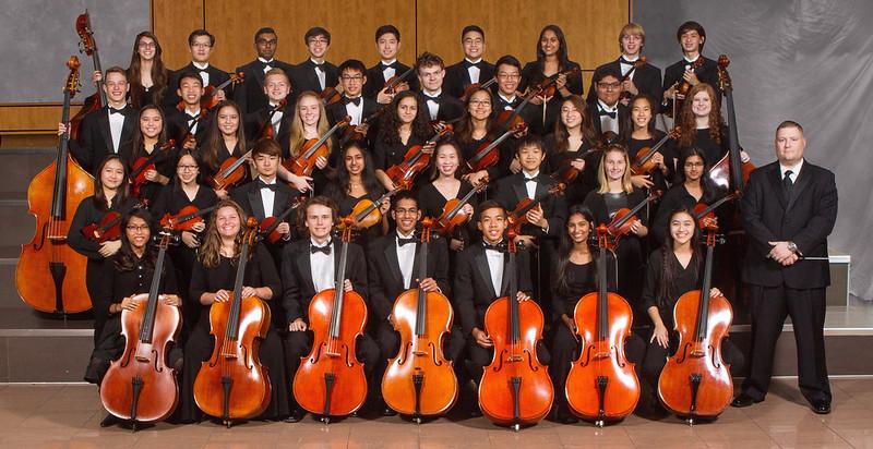 AHS Sinfonia Orchestra 2016-17