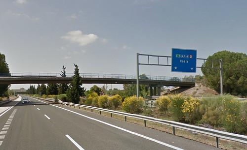autopista de peaje AP-4 cádiz