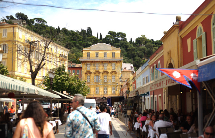 Old town in Nice