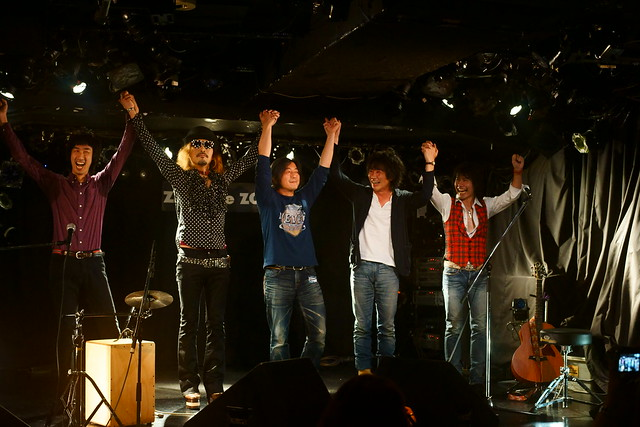 Closing. Dannie & Benny live at Zher the ZOO, Tokyo, 12 Aug 2015. 176