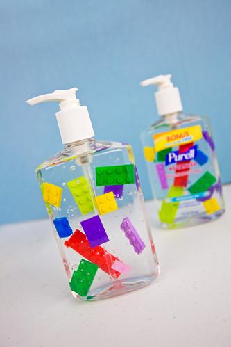 LEGO Hand Sanitizer