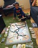 More #parenting love on our lazy Saturday. Nyal played his 1st Ticket to Ride game! He got 129 pts and even had 4 multi-colour cards left over. I can't wait to play more strategy games with him and Ryah. by raehanbobby