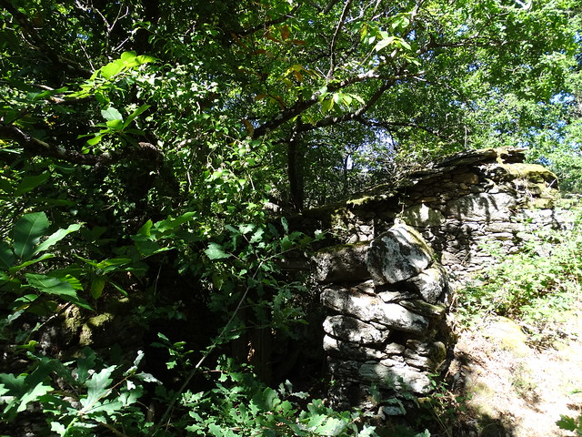 Ruinas en el PR-G 14 Ruta do Loio