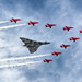 XH558 's (The Vulcan) last flight with the RAF Red Arrows by Mark Shelley Photography