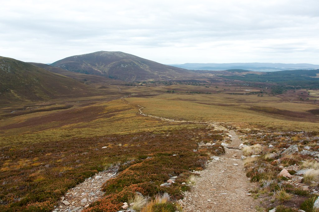 Meall a' Buchaille above Ryvoan