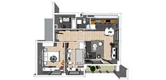 Apartment Zvezdara, Furniture
