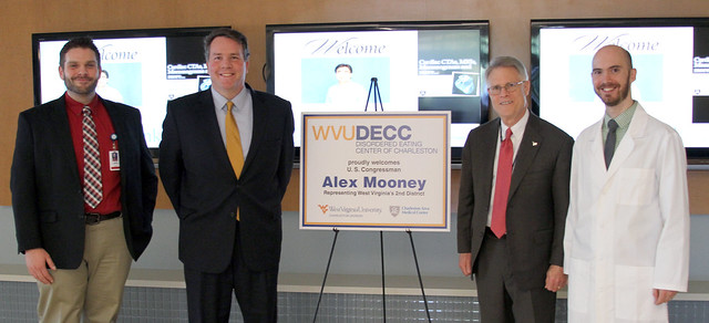 Congressman Mooney at the WVUDECC