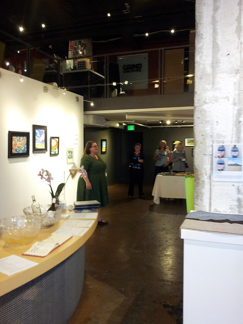 Closing Reception Sierra Arts Reno October 2015