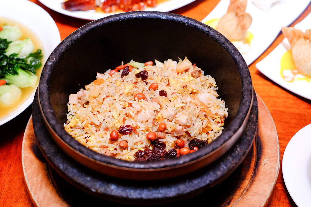 Xin Cuisine Chinese Restaurant's fried brown rice