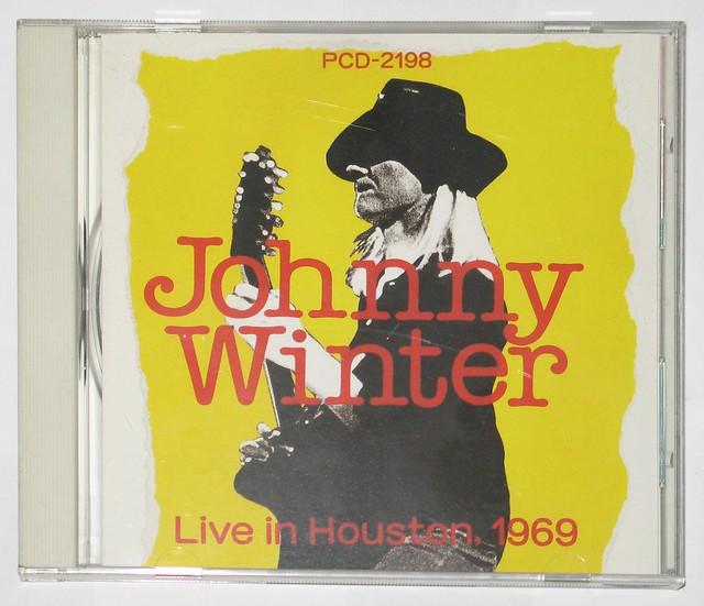 JOHNNY WINTER LIVE IN HOUSTON 1969 JAPAN