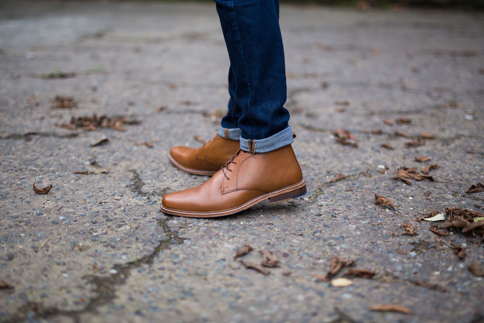 Matalan Morley Leather Chukka Boots