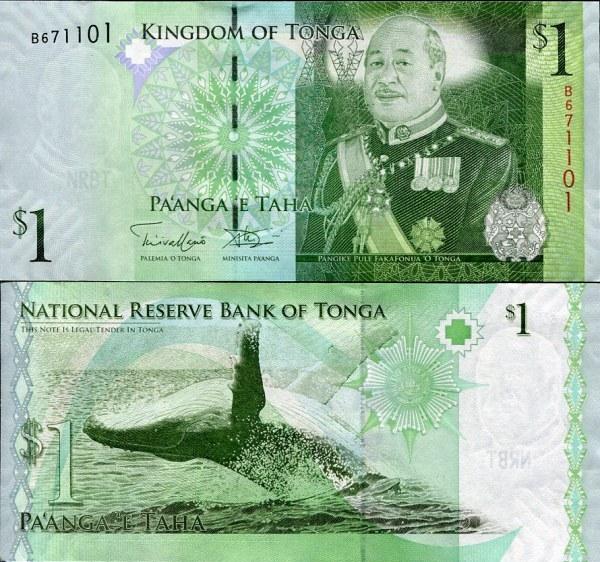 1 Pa`anga Tonga 2014, P37