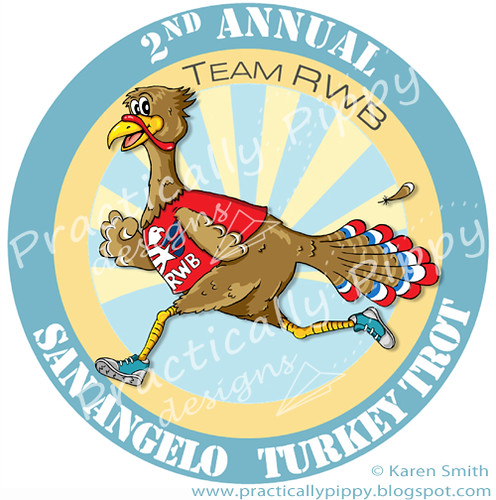 turkey trot medal