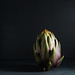 foodfulife posted a photo:	Artichoke on dark background. Part of a personal project published on foodfulife.com.