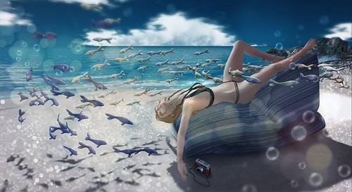 Beach Dream I ビーチの夢