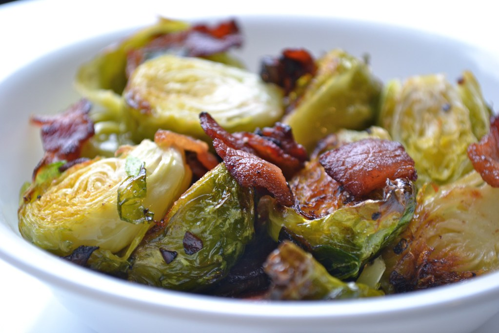 smoked-balsamic-brussels-sprouts-with-bacon