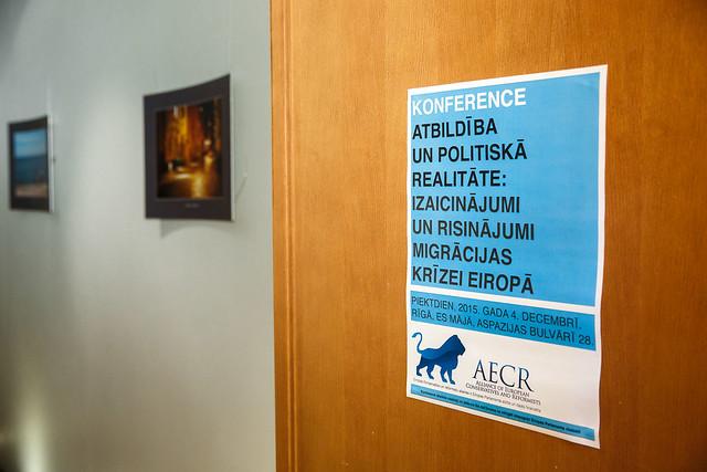 Risinājumi migrācijas krīzei, AECR konference 2015