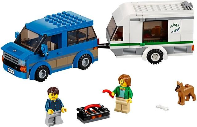 LEGO City 60117 - Van & Caravan