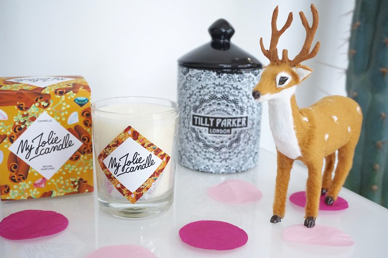 tilly parker,tilly parker candle review,my jolie candle,my jolie candle review,christmas candles,autumnal candles,home, interiors,