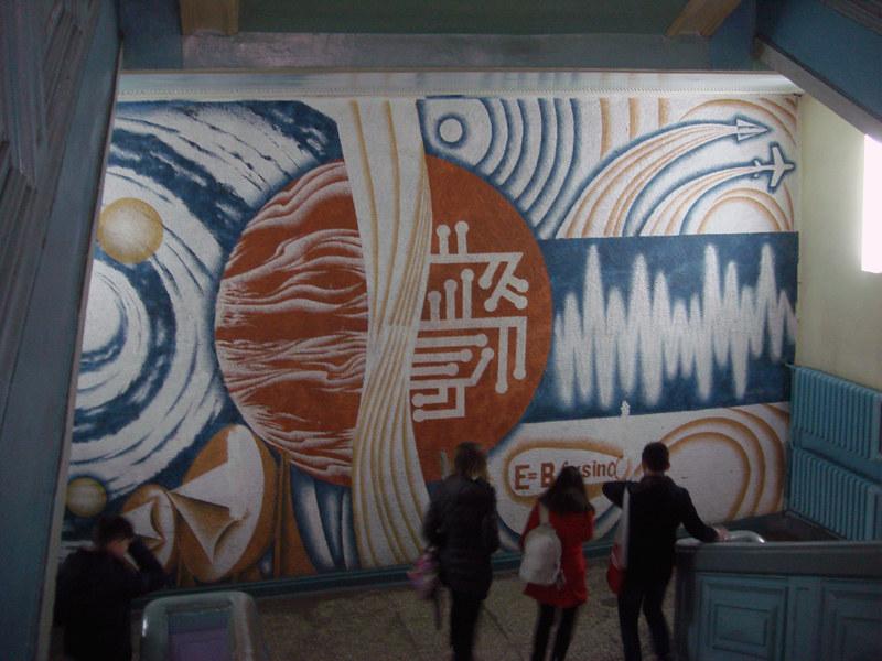 soviet mural kiev