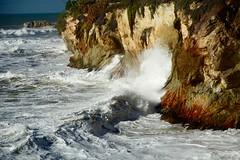 Rough seas, Shell Beach California