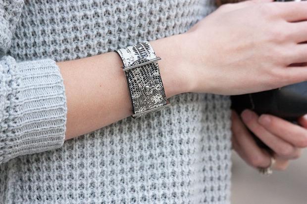 Roxanne Bergez Bracelet, Lizard Skin Bracelet