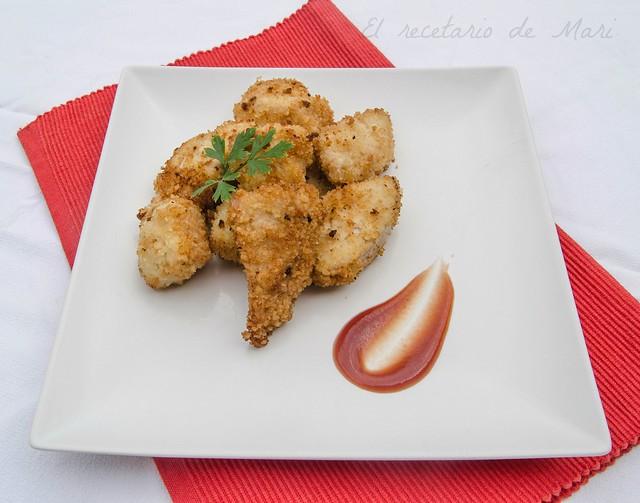 Delicias de pollo crujientes 1