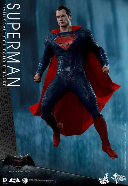 Hot Toys – MMS343 – 蝙蝠俠對超人:正義曙光【超人】Superman 1/6 比例人偶作品