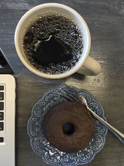 Baked Donut & Coffee