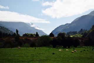 Montagnes en direction de Coyhaique