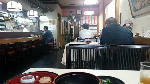 Lunch in Kii-Tanabe at Ginchiro Eki Mae