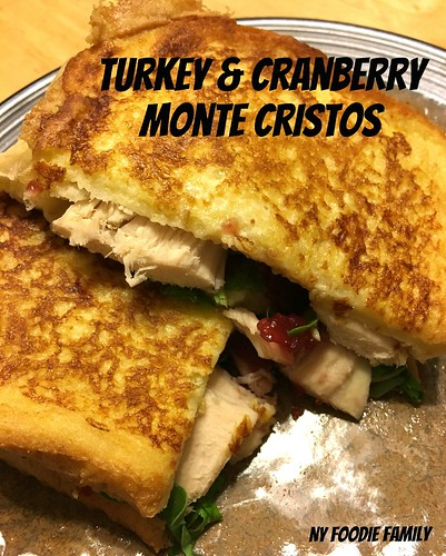 Turkey & Cranberry Monte Cristos